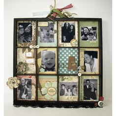 Love these new photo trays! It takes scrapbooking to a whole new level.