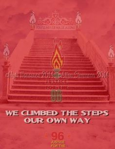 We Climbed The Steps Our Own Way! YNWA!
