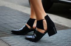 Booties are an essential when it comes to fall time fashion. This year, take your ankle booties to the next level by rocking the cut out look. Cut outs have been hot the past few season in apparel but this fall it is all about your footwear. Designers such as Alexander Wang and Balenciaga have …