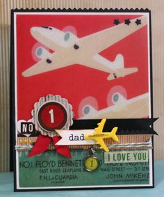Travel Themed Father's Day cards with Kristii Lockart | Glitz Design
