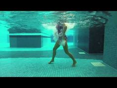 """AQUA ZUMBA Splash! with Mari """"Sigue Moviendo"""" (Zumba® Fitness - Video Co...  Love that this video is shot underwater, with the focus on form!  Time to get up and start dancing!! #waterfitness #poolworkout #aquazumba"""