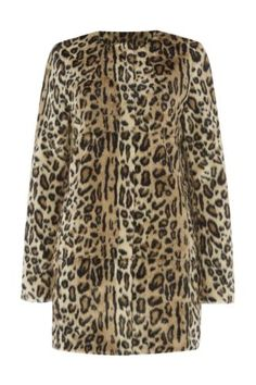 Fabulous faux fur coats for women with curves....