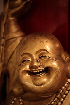 I remember, when I was maybe 4, seeing this in a Happy Buddha restaurant and screaming. I guess I was having a zen moment or something, not sure :)