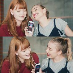 Hanna and Mia