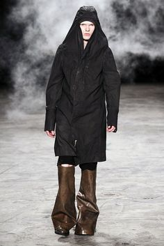 Visions of the Future // Rick Owens Spring 2011 Menswear Fashion Show