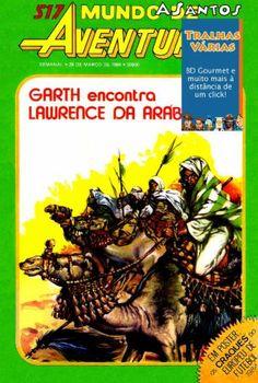 Mundo de Aventuras S2 517: Garth Encontra Lawrence da Arabia (1984)   Titulo: Mundo de Aventuras S2 517: Garth Encontra Lawrence da Arabia (1984) Formato(s): CBR Idioma(s): PT-PT Scans: ASantos Restauro: ASantos Num. Paginas: 34 Resolucao (media): 1304 x 1878 Tamanho: 16.61MBDownload (FileFactory)Download (Zippyshare)Agradecimentos: Obrigado ao/a ASantos pelo trabalho de digitalizacao e tambem ao/a ASantos pelo restauro!  MUNDO de AVENTURAS serie 2 n.517 29 de Marco de 1984 - GHARTH: Busca e…