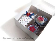 Baby Shower Gift Box Combo Receiving Blanket by BabyBinkz - use coupon code PIN10 for 10% off any order!