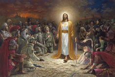 Peace Is Coming by Jon McNaughton. Go to the website to learn about each person in the picture.