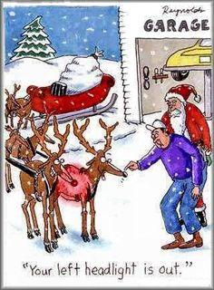 Santa is on the noddy list