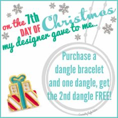 On the 7th Day of Christmas...... What Charms Tell Your Story? Contact me now! www.GlamorousByVictoria.OrigamiOwl.com ~ Designer #49681 Like our www.facebook.com/GlamorousByVictoria