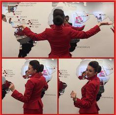 【イギリス】ヴァージン・アトランティック航空 客室乗務員 / Virgin Atlantic Airways cabin crew【UK】 Montego Bay, Cancun, Havana, Grace Perry, Washington Dc, Orlando Miami, Dubai, Flight Attendant, Amy