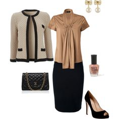 """""""Chanel inspired"""" by cs1398 on Polyvore"""