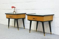 Fifties bedside tables