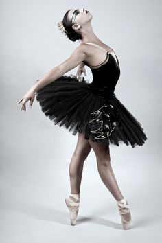 Photo about Ballerina performing in a black tutu. Image of performer, motion, person - 21123942 Ballet Poses, Ballet Dancers, Swan Drawing, Black Swan 2010, Projector Photography, Ballerina Art, Black Tutu, Ballet Photography, Swan Lake