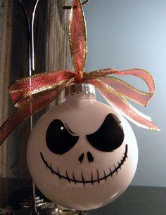 ff217472c8 Items similar to Nightmare Before Christmas Jack Skellington Ornament on  Etsy