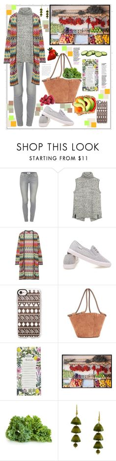 """""""Walking at the market..."""" by natalyapril1976 on Polyvore featuring Mode, Paige Denim, Fat Face, Missoni, Casetify, The Row, Rifle Paper Co und Pottery Barn"""