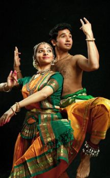Shijith Nambiar and Parvathi are partners in dance and in real life. Bharatanatyam dancers.