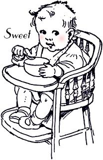 **FREE ViNTaGE DiGiTaL STaMPS** ~ Sweet Baby
