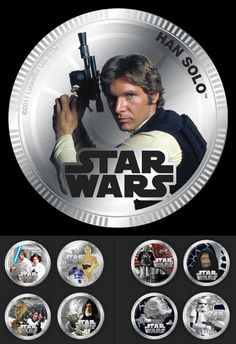 LEGAL TENDER WITH GEORGE LUCAS' NAME ON IT -- THE END IS NIGH!    The island nation of Niue (~1,500 miles north of New Zealand in Polynesia) is minting a series of legal tender in the form of Star Wars themed coins.