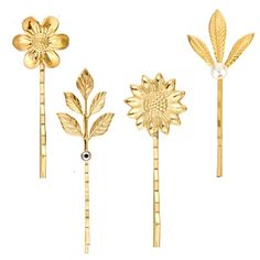 Gold plated bobby pins featuring pearls and Swarovski rhinestones. Mix and match. Starting at just 6 dollars.   Brides, bridal, wedding hair, holiday, sparkle, gift.