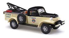 Busch # 44017 1945-1968 Dodge 4x4 Tow Truck - Assembled J.B. AUTO CO.HO MIB