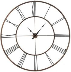 Product Details Addison Open Face Clock Living Room