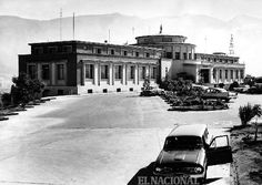 Fachada del Observatorio Cagigal. (Colección Archivo El Nacional)