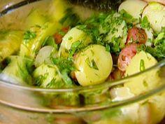 French Potato Salad recipe from Ina Garten via Food Network