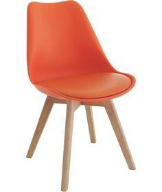 Habitat Dining Chair Orange