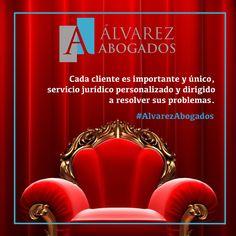 Cada cliente es importante y único, en Alvarez Abogados Tenerife ofrecemos un servicio jurídico personalizado y dirigido a resolver sus problemas. http://alvarezabogadostenerife.com/?p=5430  #AlvarezAbogados