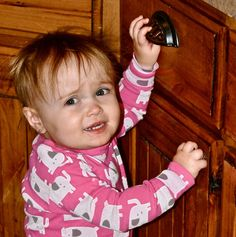 Baby girl hair styles for babies with just enough hair to get in the way/in her face.
