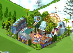 Guide to CityVille Theme Park