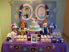 Frozen (Disney) Birthday Party Ideas   Photo 10 of 10   Catch My Party