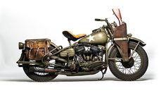 "1942 Harley-Davidson WLA Military presented as lot S19 Captain America/Steve Rogers' ""Liberator"""