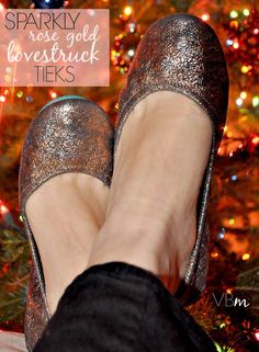 Rose Gold Lovestruck Tieks by Gavrieli Ballet Flats ❤️❤️❤️❤️