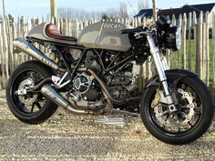 Ducati Sport 1000 custom revival ~ Return of the Cafe Racers [note: I WILL be owning a bike in the future-hopefully a Ducati, but unlikely ; Ducati Cafe Racer, Cafe Bike, Cafe Racer Motorcycle, Motorcycle Outfit, Cafe Racers, Motorcycle Parts, Motorcycle Travel, Girl Motorcycle, Motorcycle Quotes