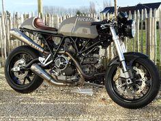 Ducati Sport 1000 custom revival - via Return of the Cafe Racers