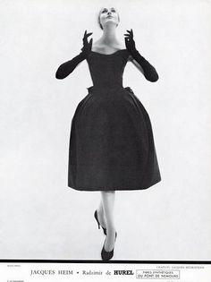 Jacques Heim, 1957.  For L'Officiel.