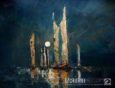 Night by Justyna Kopania