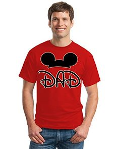 Hot Ass Tees Adult Mickey Mouse Father Year Round T-shirt...