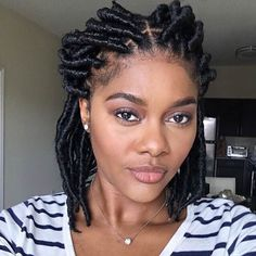 31 Faux Loc Styles for African-American Women 31 Faux Loc Styles for African-American Women   There's a lot to be said for faux locs – they give you the opportunity to play around with so many more styles without needing to put in all that ti