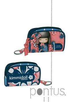 Porta moedas Kimmidoll Sonoko 100x70x35mm | JB