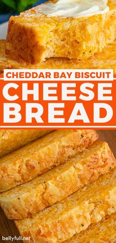 Soft, fluffy and loaded with cheese, this easy Cheese Bread tastes just like Red Lobster Cheddar Bay Biscuits! No kneading required. Perfect served as a side with a nice pat of butter or even for sandwiches. Easy Cheese, Cheese Bread, Quick Bread Recipes, Cooking Recipes, Cat Recipes, Simple Recipes, Cheddar Bay Biscuits, Biscuit Bread, Have Time