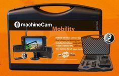 """Für 549 Euro (o. MwSt) bietet das schwedische Unternehmen Luda das mobile Maschinen-Kamerasystem """"MachineCam Mobility"""" an. Laut Hersteller kann jetzt jeder Mitarbeiter sein eigenes Kamerasystem verwenden, anstatt mehrere Kameras an verschiedenen Maschinen montieren zu müssen."""