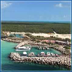 When you go on a Disney Cruise, depending on which one you select, you might get to spend a day (or two!) on a private island in the Bahamas called...