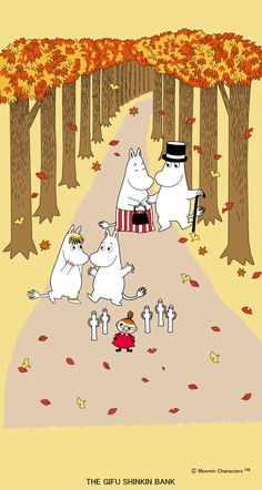 Moomin Wallpaper, New Nature Wallpaper, Spring Desktop Wallpaper, Unique Wallpaper, Pattern Wallpaper, Wallpaper Backgrounds, Iphone Wallpaper, Little My Moomin, Les Moomins