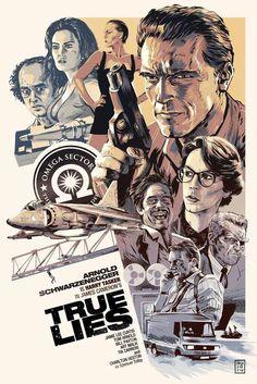True Lies (1994)-Arnold Schwarzenneger/Jamie Lee Curtis Directed by: James Cameron