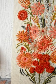 embroidery is so beautiful - so much work; so beautiful