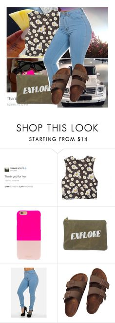 """""""#453"""" by westcoke ❤ liked on Polyvore featuring dELiA*s, BaubleBar, Izola, Birkenstock and Charlotte Russe"""