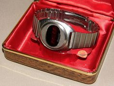 Vintage Litronix LED Watch, Circa 1970s